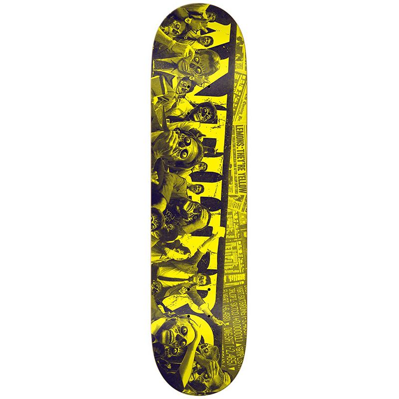 Anti Hero They Panic Skateboard Deck 8.25