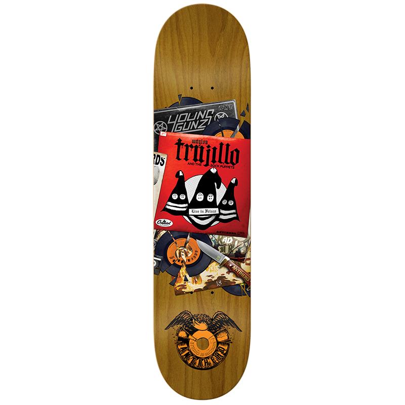 Anti Hero Trujillo Studio 18 Round 2 Skateboard Deck 8.5