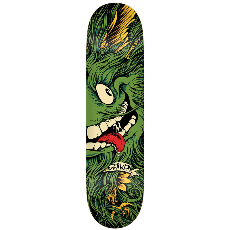 Anti Hero x Grimple Stix Gerwer Skateboard Deck 8.06