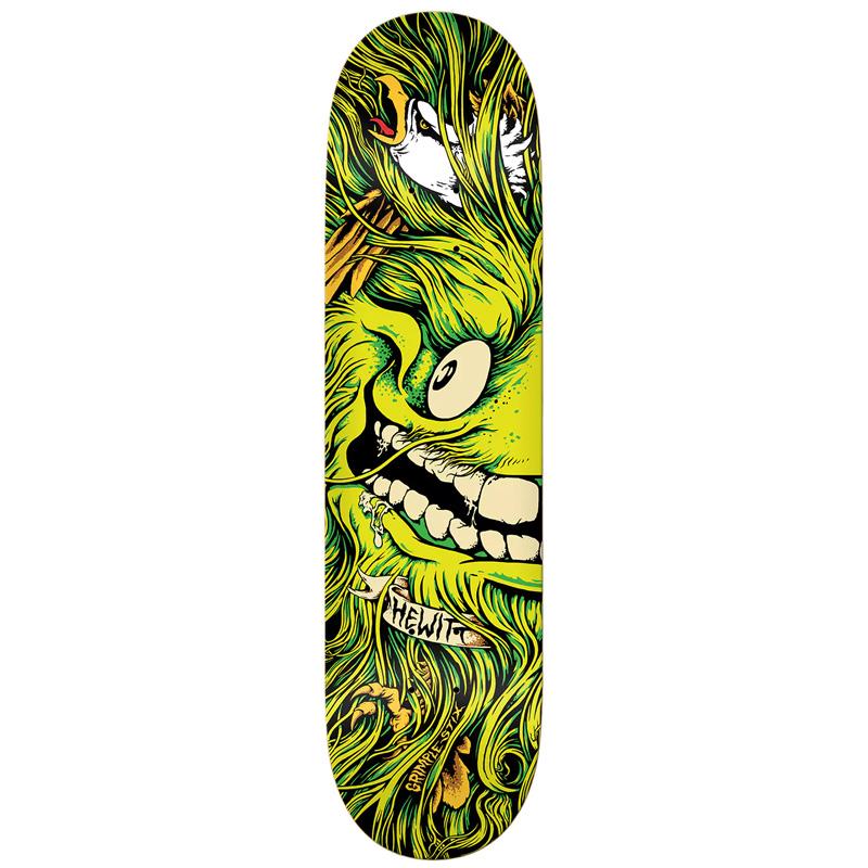 Anti Hero x Grimple Stix Hewitt Skateboard Deck 8.38