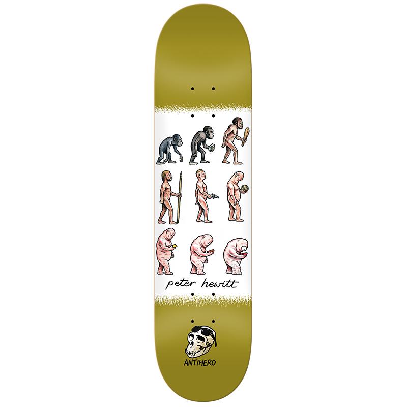Anti Hero Hewitt Evolution Skateboard Deck 8.75