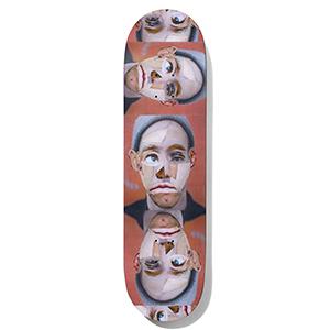 Baker Andrew Reynods Facecuts Skateboard Deck 8.5