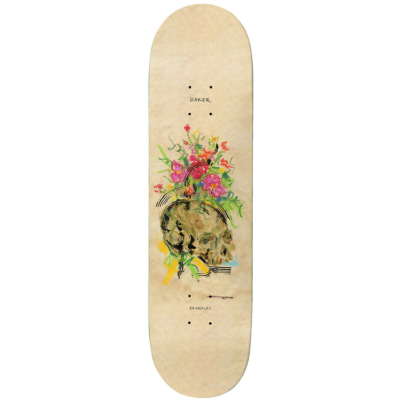 Baker Andrew Reynolds Face Up To Mine Skateboard Deck 8.5