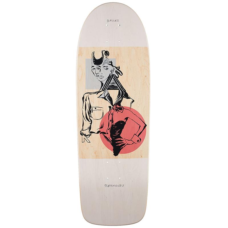 Baker Andrew Reynolds Mind Bends Skateboard Deck 9.89