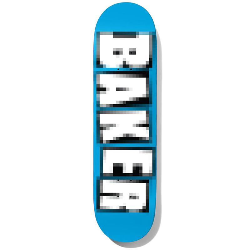 Baker Andrew Reynolds Brand Name Pixelated Skateboard Deck 7.75