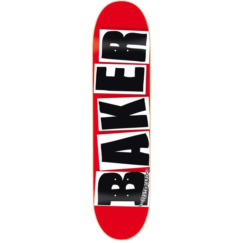 Baker Brand Logo Black Skateboard Deck 7.88