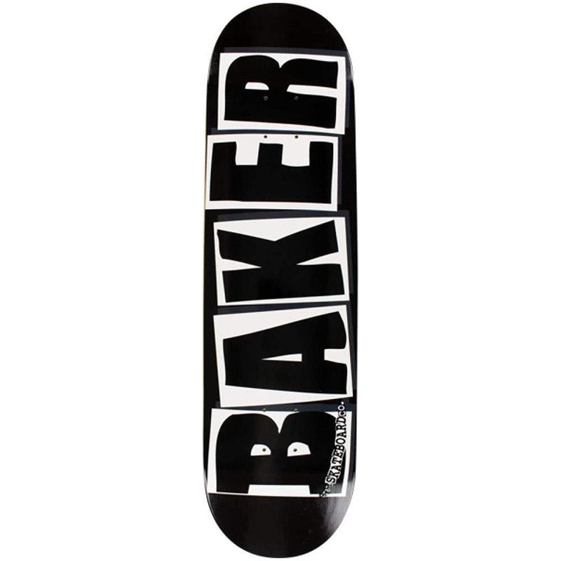 Baker Brand Logo Black/White Skateboard Deck 8.0