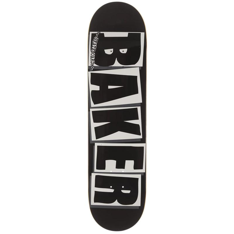 Baker Brand Logo Black/White Skateboard Deck 8.125
