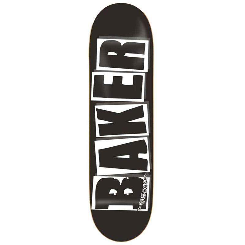 Baker Brand Logo Black/White Skateboard Deck 8.25