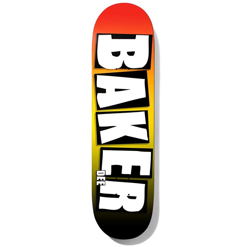 Baker Dee Ostrander Brand Name Grade B2 Skateboard Deck 8.38
