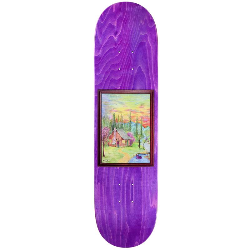 Baker Don Nguyen Woodland Escape Skateboard Deck 8.0