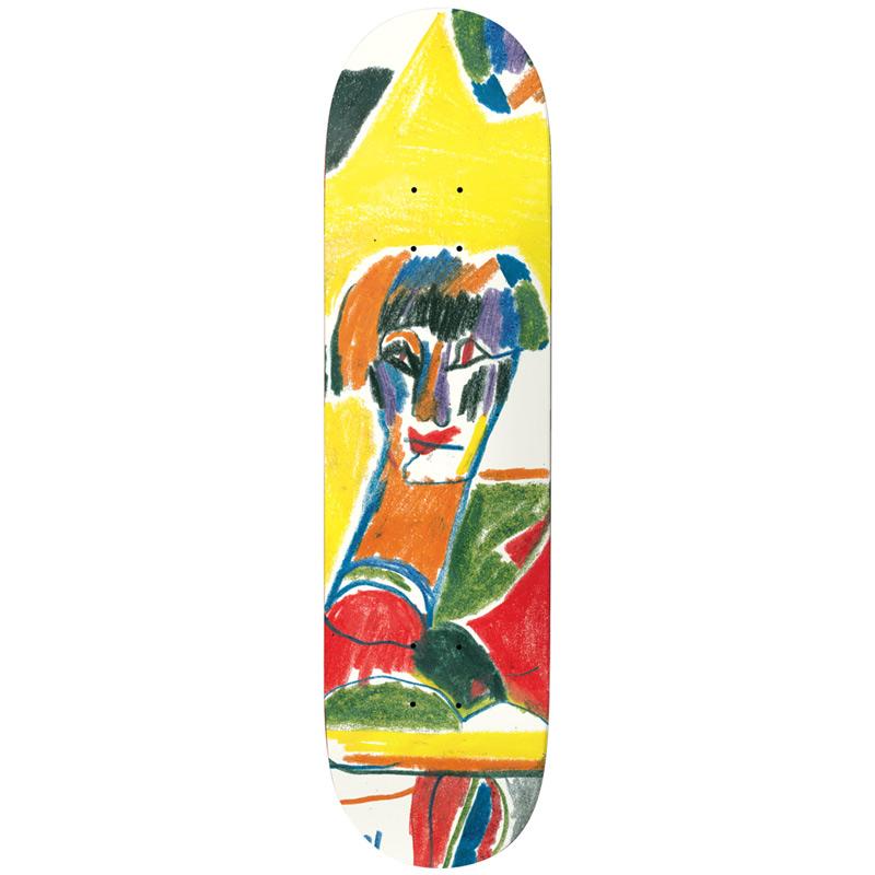 Baker Dustin Dollin Presley Skateboard Deck 8.0