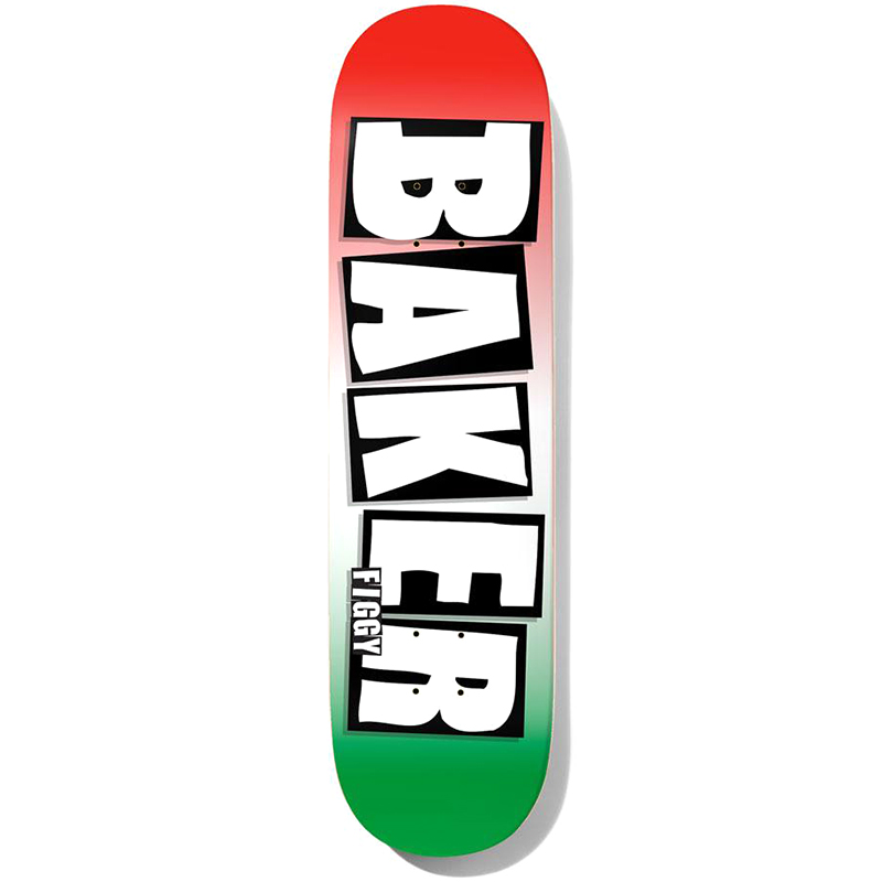 Baker Figgy Brand Name Grade B2 Skateboard Deck 8.25