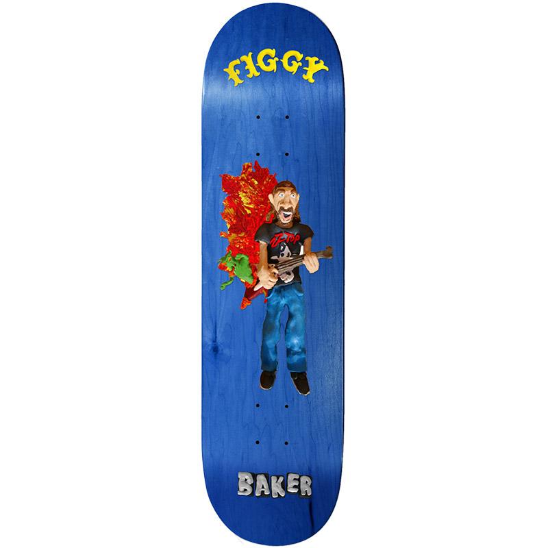 Baker Figgy Kazi Skateboard Deck 8.25