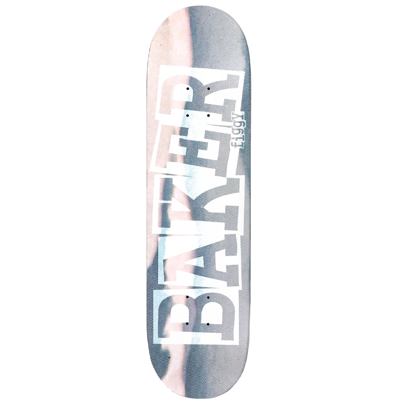 Baker Figgy Ribbon Time Flies Skateboard Deck 8.5