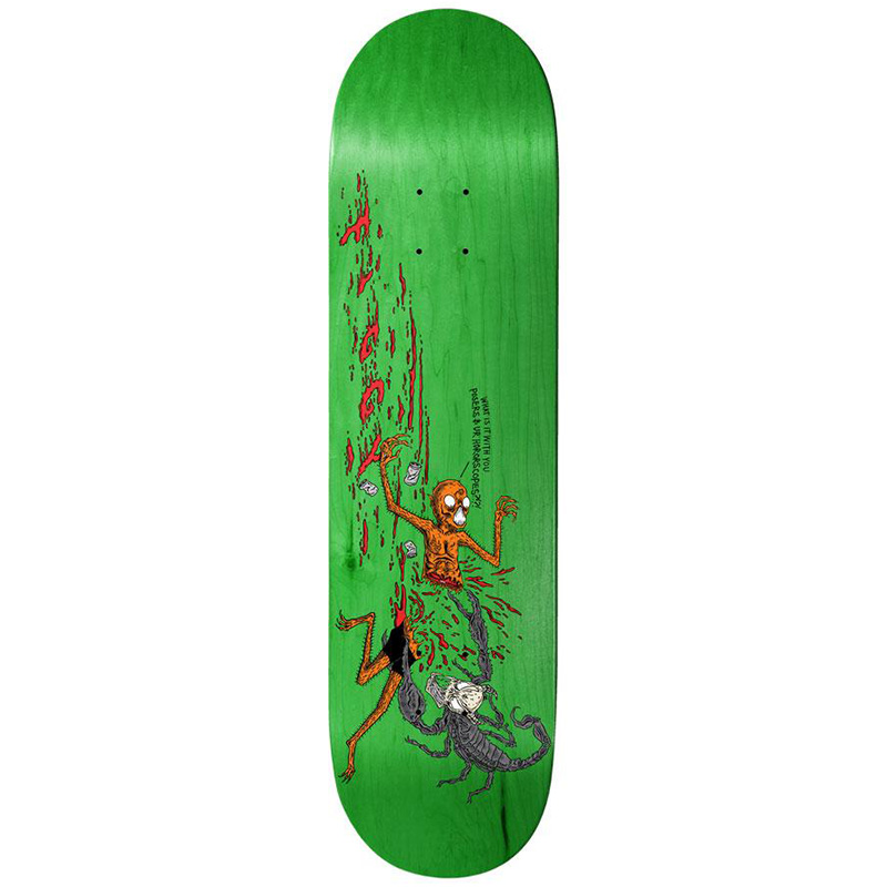 Baker Figgy Wizardry Skateboard Deck 8.125