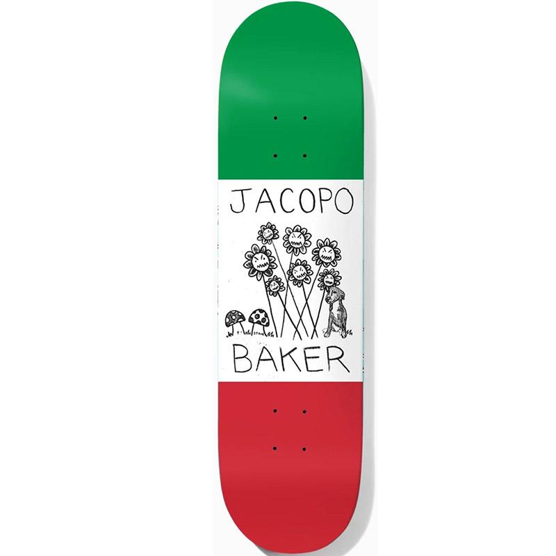 Baker Jacopo Carozzi Centrale Skateboard Deck 8.0