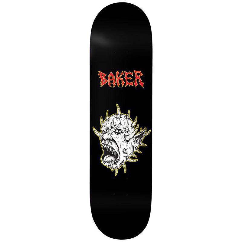 Baker Jacopo Carozzi Judgement Day Skateboard Deck 8.475