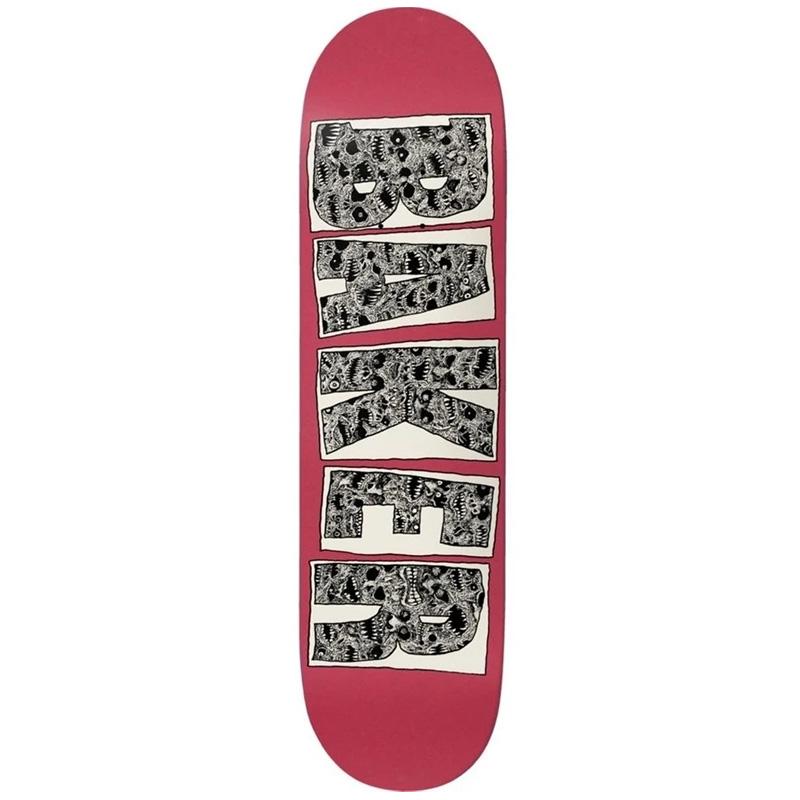 Baker Kader Maze Skateboard Deck 8.5