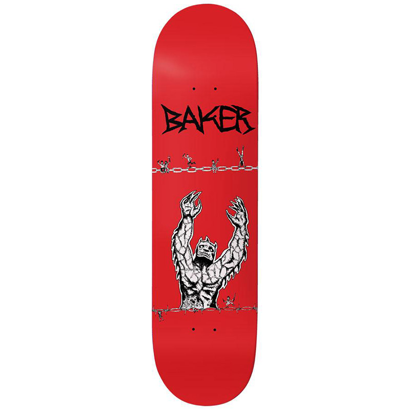 Baker Kader Sylla Judgement Day Skateboard Deck 8.38