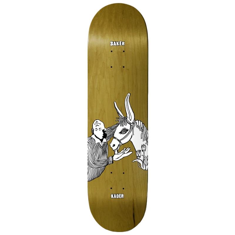 Baker Kader Toon Goons Skateboard Deck 8.25