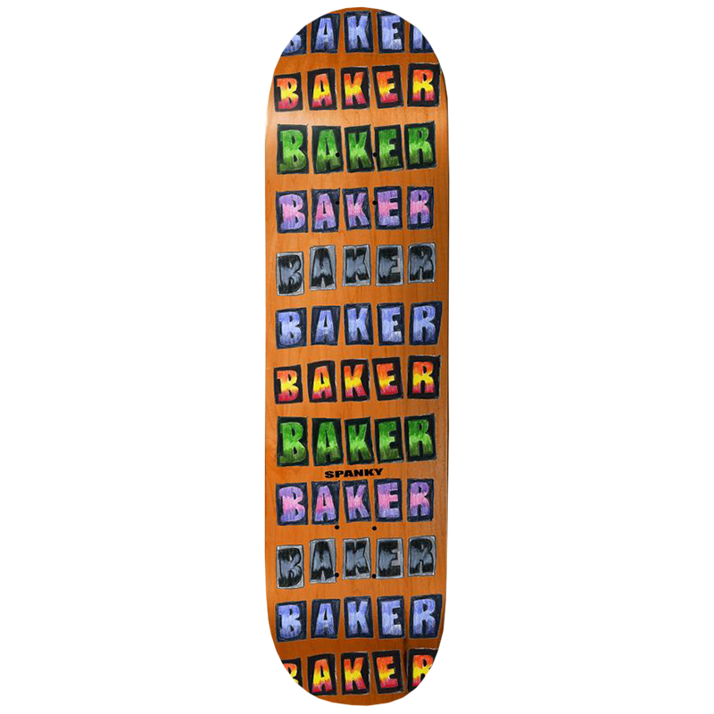 Baker KL Colored Pencil Skateboard Deck 8.0