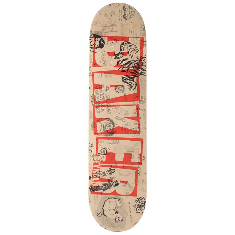 Baker Reynolds Brand Name Doodles Skateboard Deck 8.0