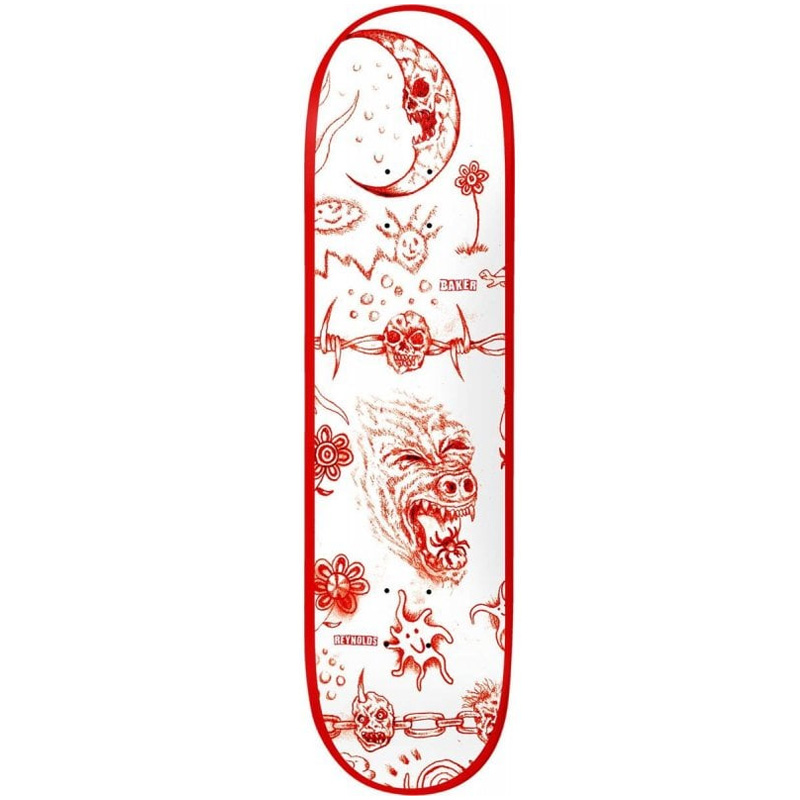 Baker Reynolds Lunacy Skateboard Deck 8.5