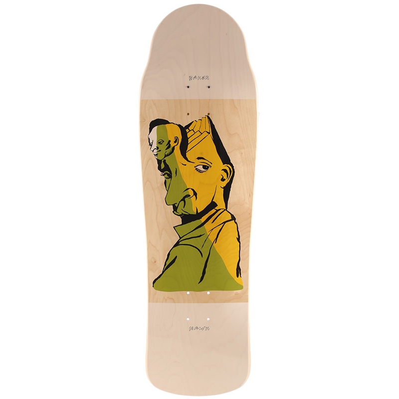 Baker Riley Hawk Mind Bends Skateboard Deck 9.5