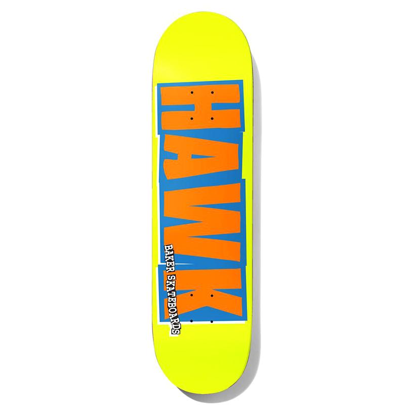 Baker Riley Hawk Name Logo Skateboard Deck 8.0