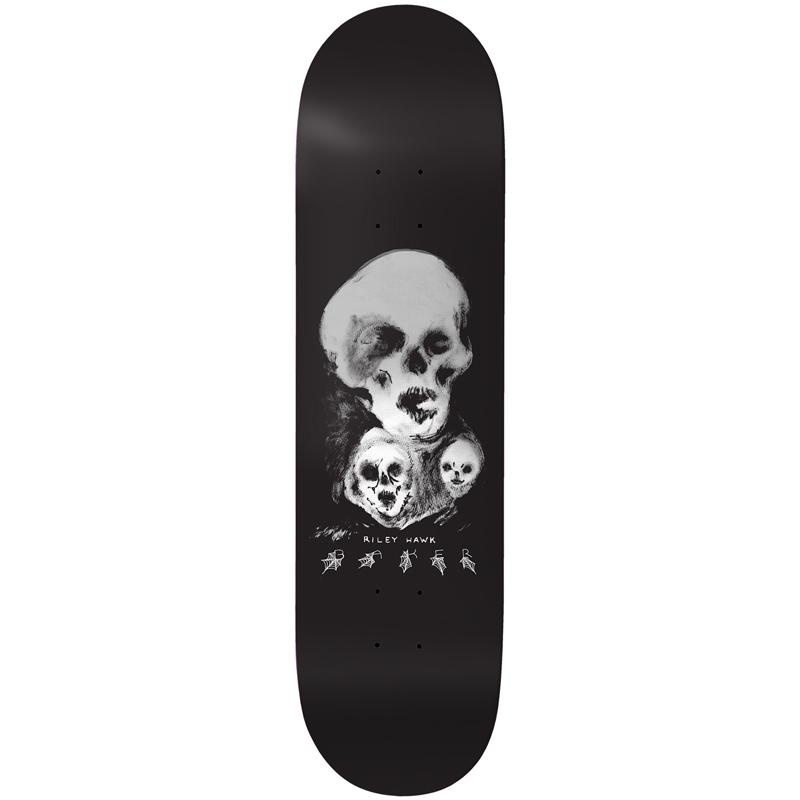 Baker Riley Hawk Nightmare Skateboard Deck 8.0