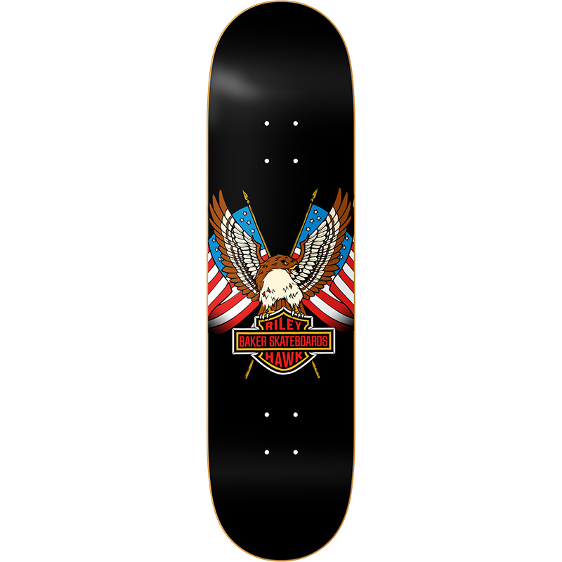 Baker Riley Hawk Shovelhead Skateboard Deck 8.125