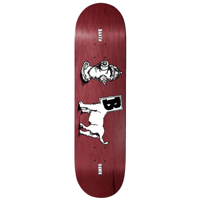 Baker Riley Hawk Toon Goons Skateboard Deck 8.38