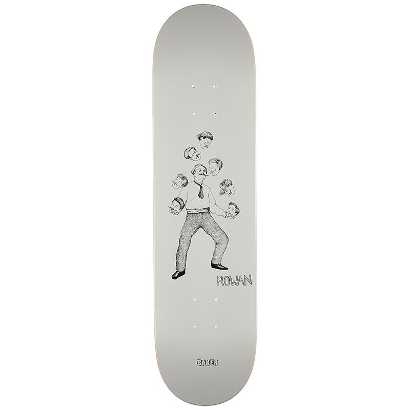 Baker Rowan Zorilla Curiosities Skateboard Deck 8.0