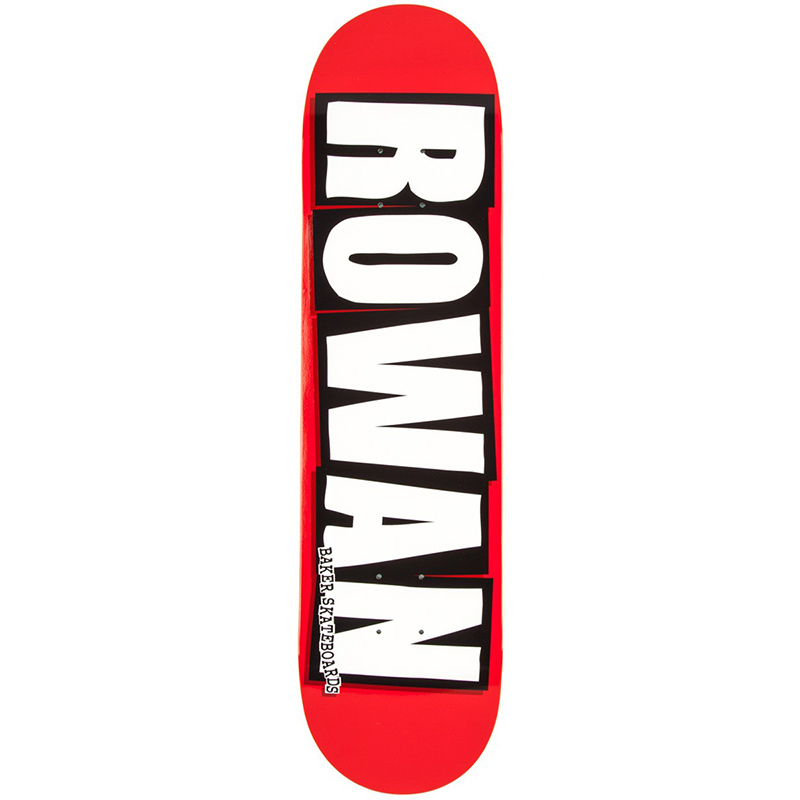 Baker Rowan Zorilla Logo Skateboard Deck 8.0