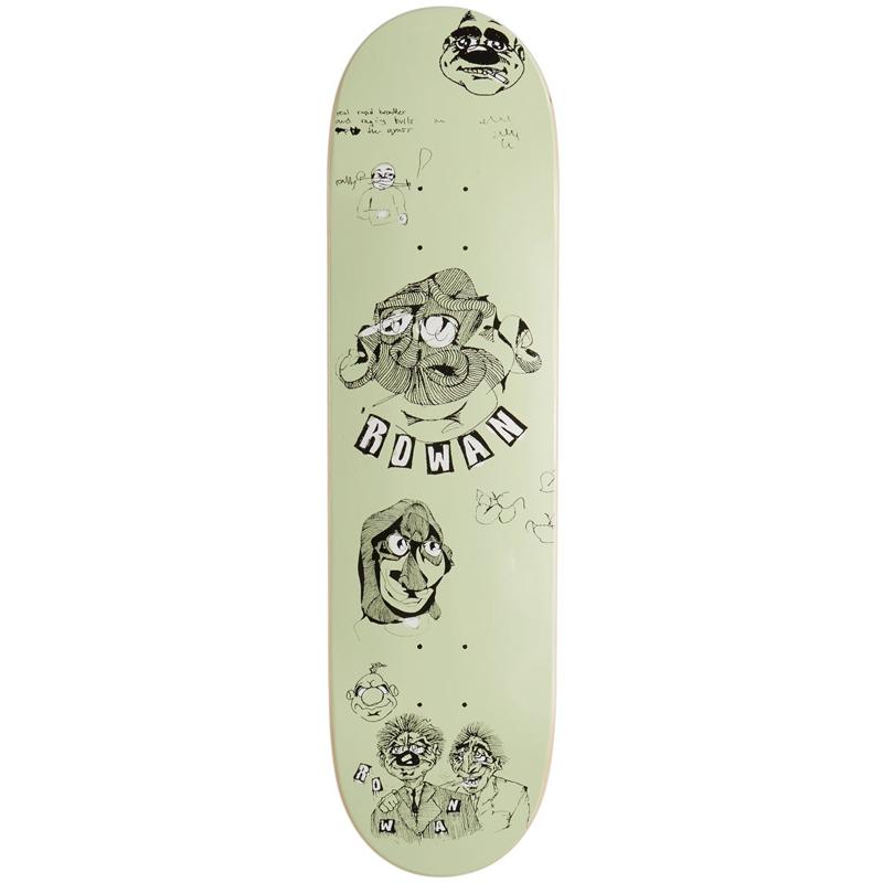Baker Rowan Zorilla Santino Skateboard Deck 8.25