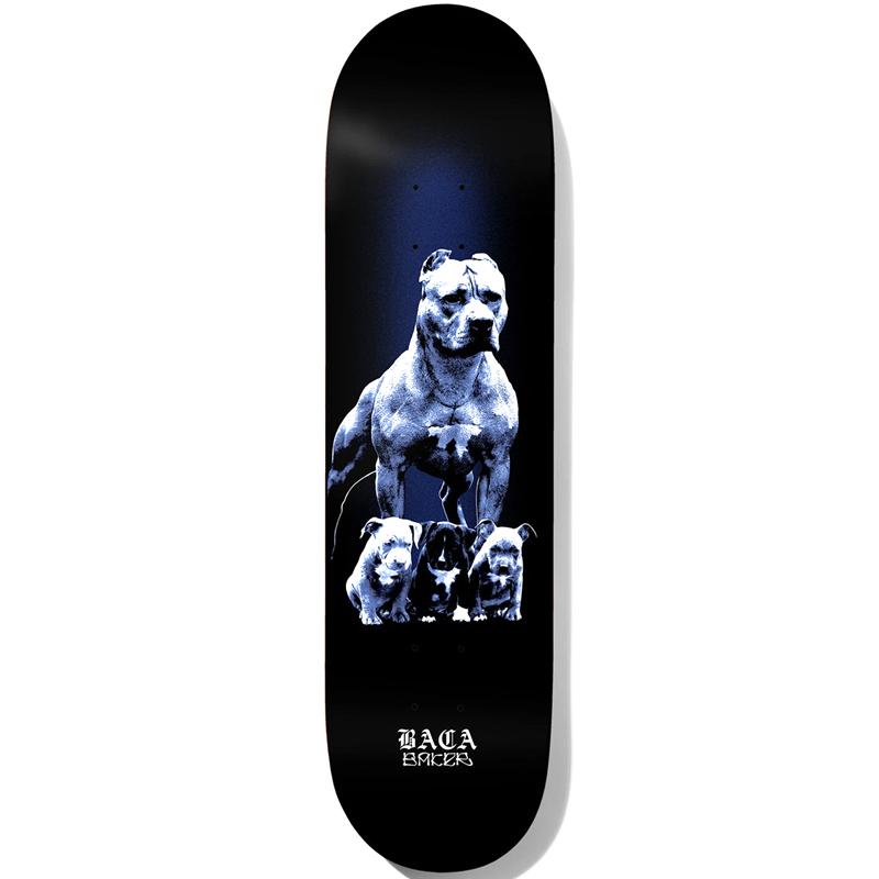 Baker Sammy Baca Pups Skateboard Deck 8.475