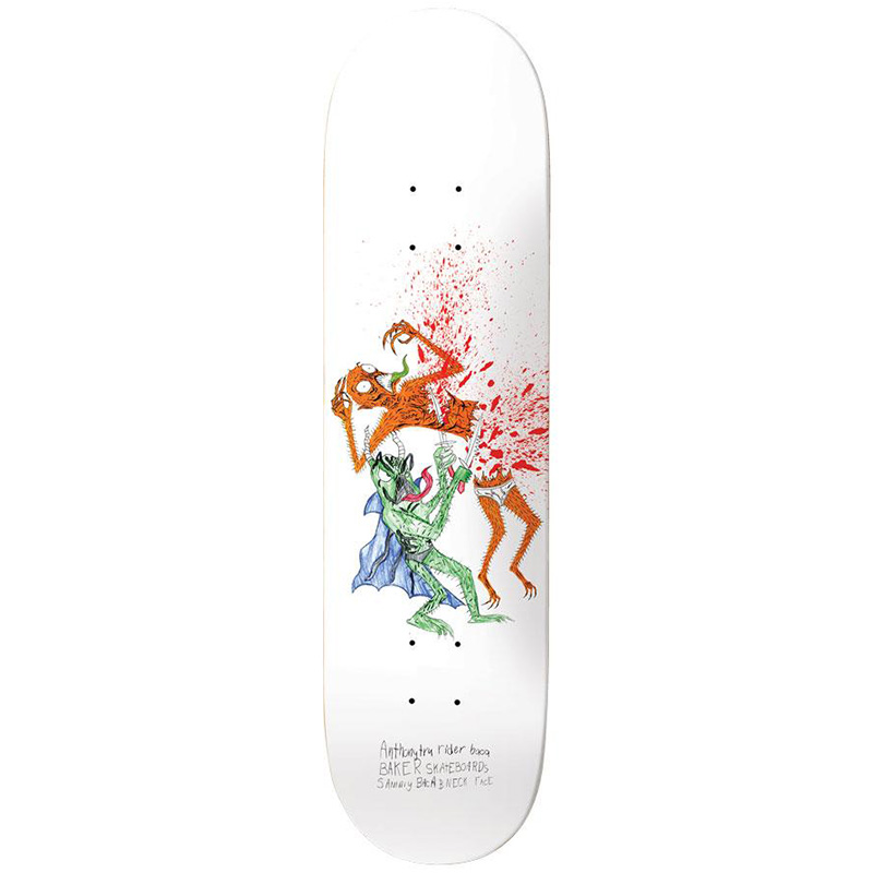 Baker Sammy Baca Wizardry Skateboard Deck 8.0