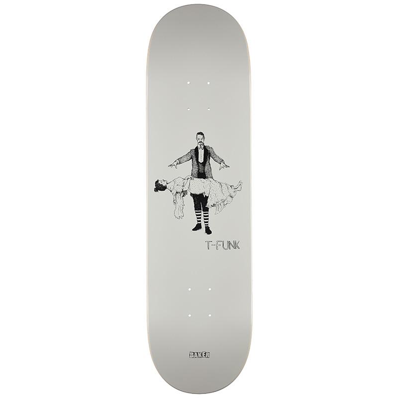Baker T-Funk Curiosities Skateboard Deck 8.5