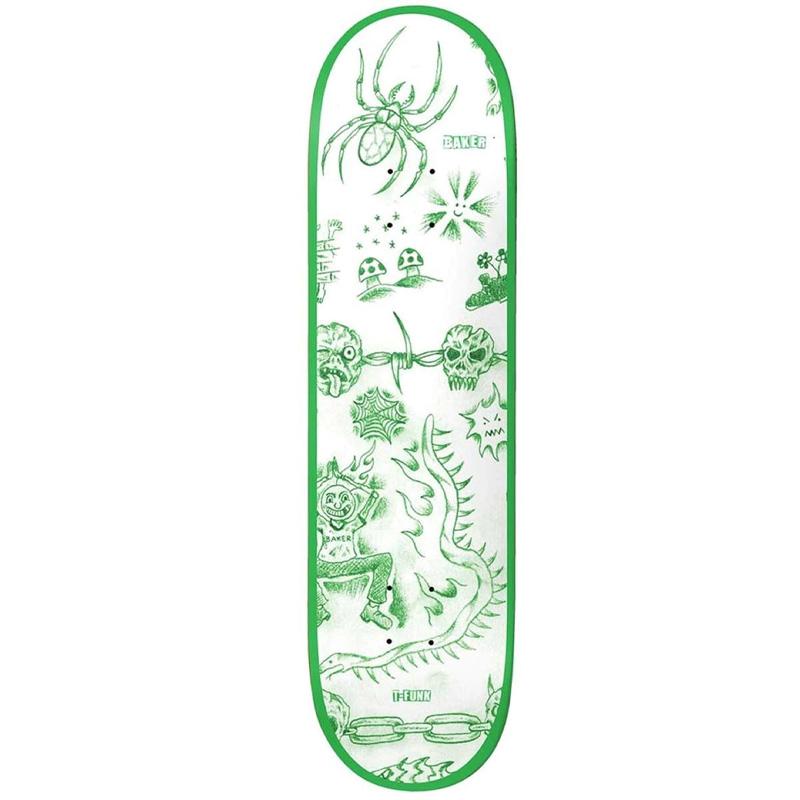Baker T-Funk Lunacy Skateboard Deck 8.3875