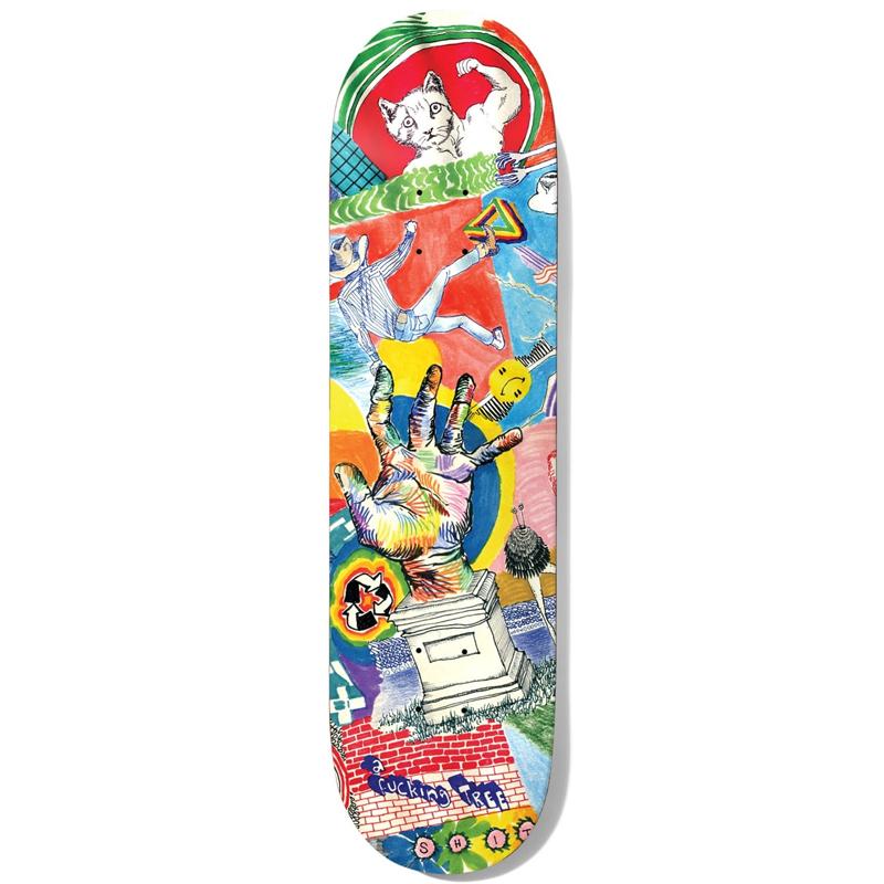 Baker T-Funk Thoughts Skateboard Deck 8.5