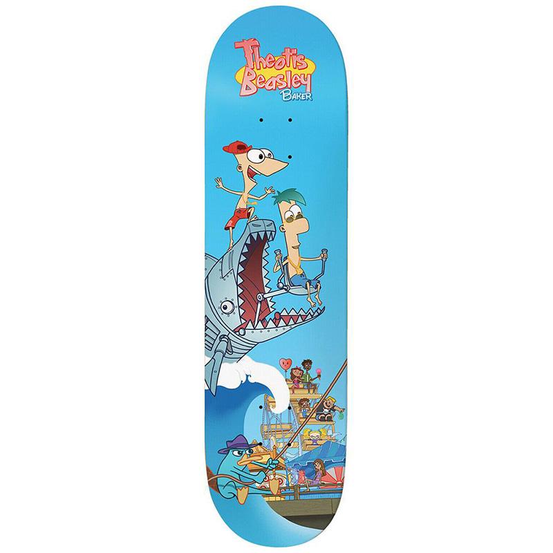 Baker Theotis Beasley Step Brothers Skateboard Deck 8.0