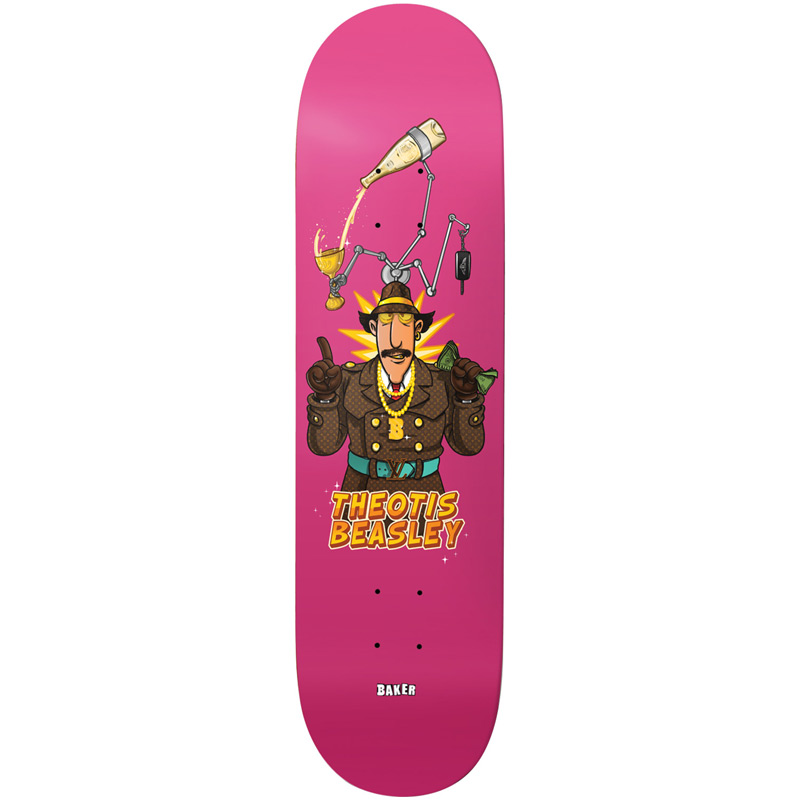 Baker Theotis Beasley Wowzers Skateboard Deck 8.0