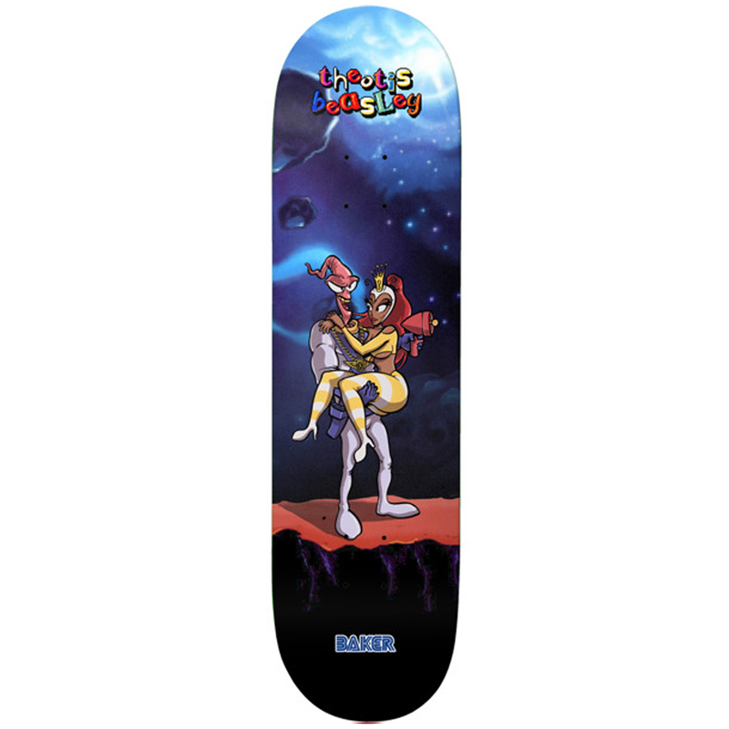 Baker Theotis Beasly What's Her Name Skateboard Deck 8.25