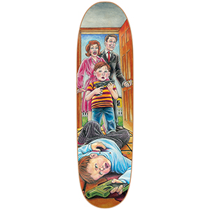 Blind Accidental Gun Death Slick Skateboard Deck 8.75