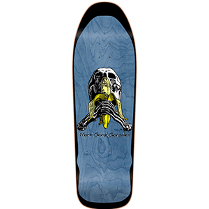 Blind Gonzales Skull and Banana Heat Transfer Skateboard Deck 9.875