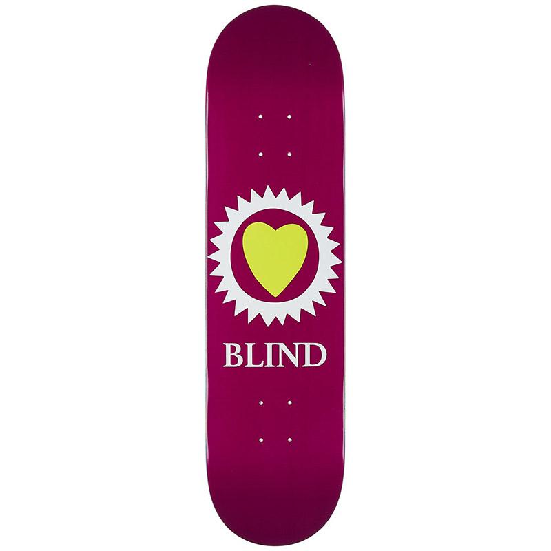 Blind Heart Skateboard Deck Merlot 8.0
