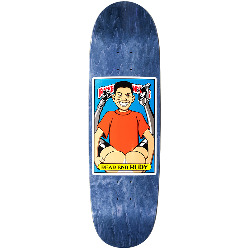 Blind Johnson FUBK Rear End Rudy SP Reissue Skateboard Deck 9.0