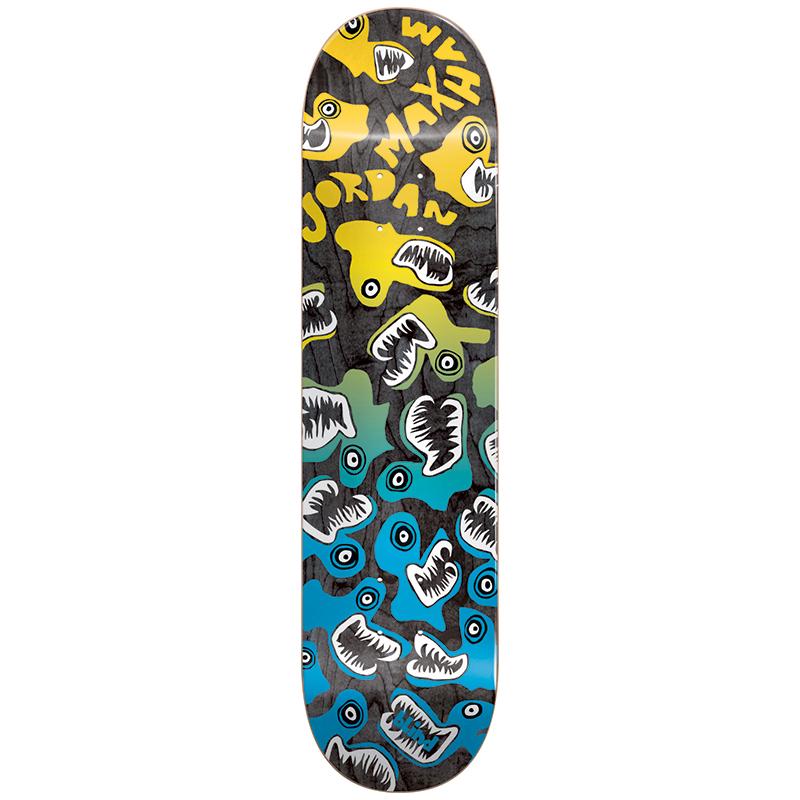 Blind Maxham Monsters R7 Skateboard Deck 8.25