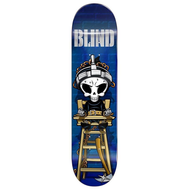 Blind McEntire Chair Reaper R7 Skateboard Deck 8.25